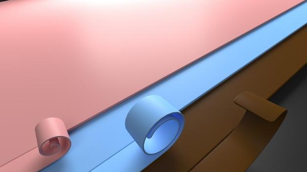Sfondo astratto geometrico 3d