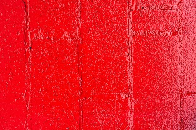 Sfondo astratto muro di mattoni rossi
