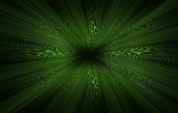 Sfondo astratto zoom verde chiaro