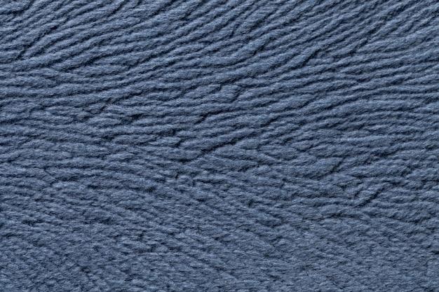 Sfondo azzurro di materiale tessile morbido