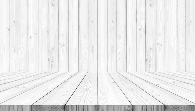 Sfondo bianco struttura di legno