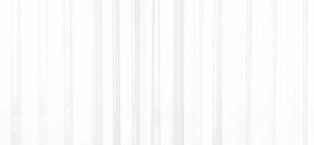 Sfondo bianco tenda