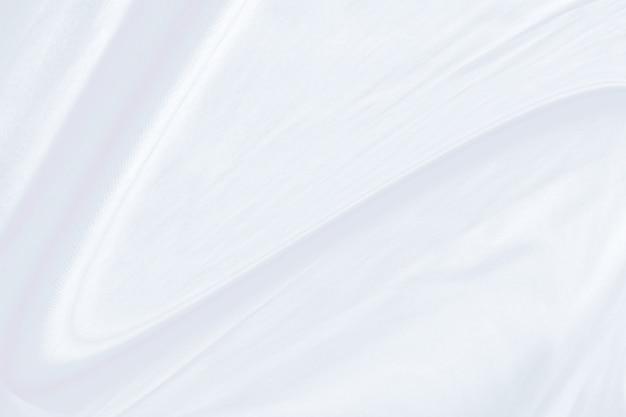 Sfondo bianco trama del tessuto, tessuto ondulato