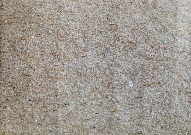 Sfondo biodegradabile di cartone marrone