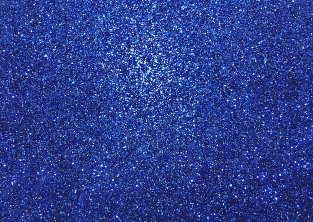 Sfondo blu glitter