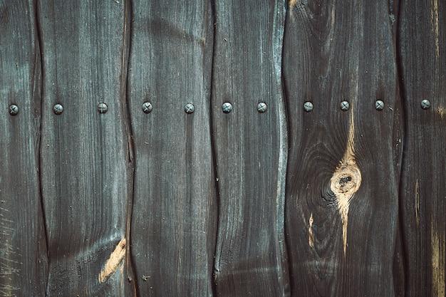 Sfondo blu in legno. trama di legno