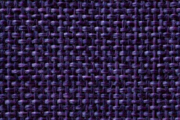 Sfondo blu scuro tessile con motivo a scacchi