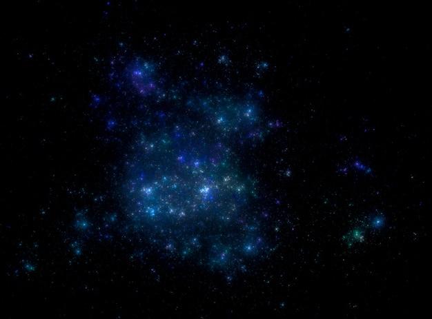 Sfondo campo stellare. struttura stellata del fondo dello spazio cosmico.