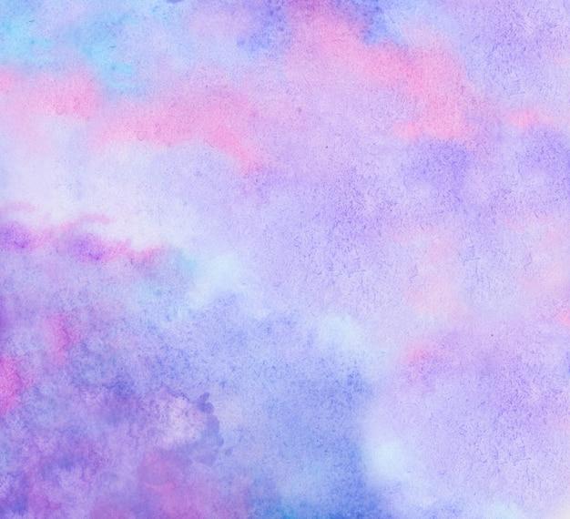 Sfondo colorato ad acquerello dipinto a mano a pennello
