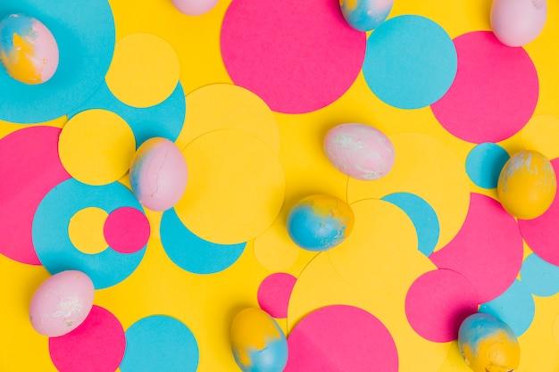 Sfondo colorato di pasqua