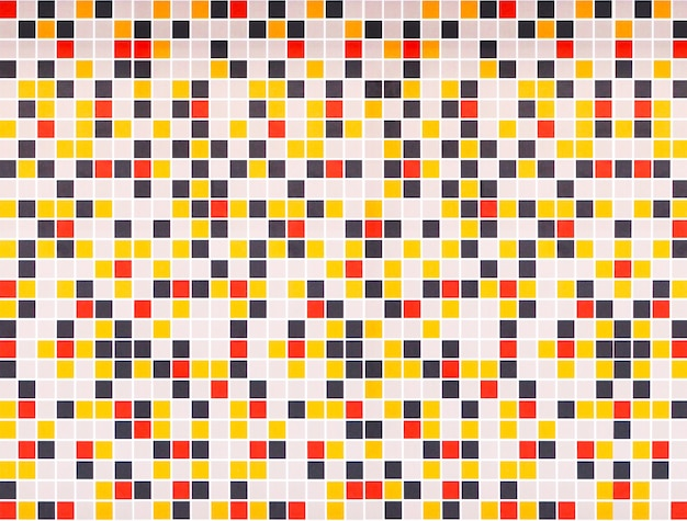 Sfondo colorato muro di mosaico.