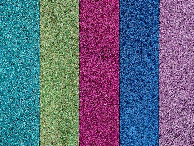 Sfondo colorato scintilla glitter.