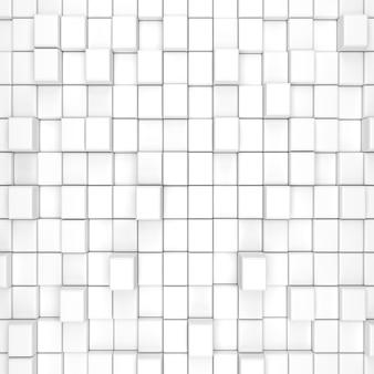 Sfondo con cubi tridimensionali. rendering 3d