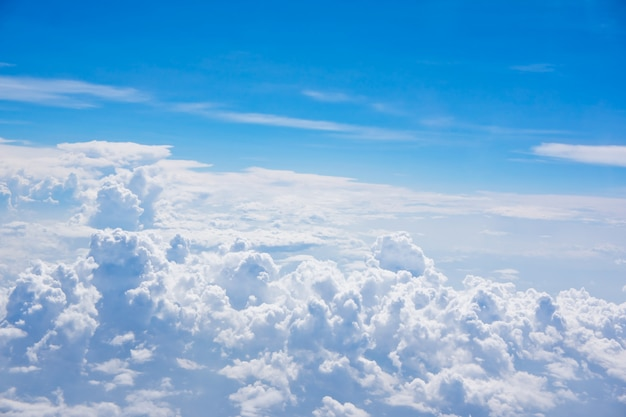 Sfondo da sopra le nuvole e il cielo