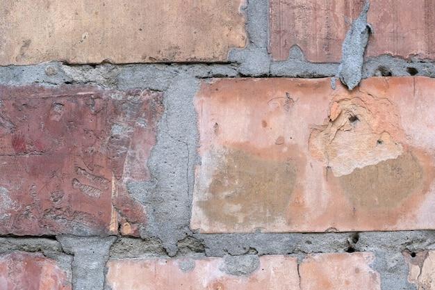 Sfondo da un muro di mattoni