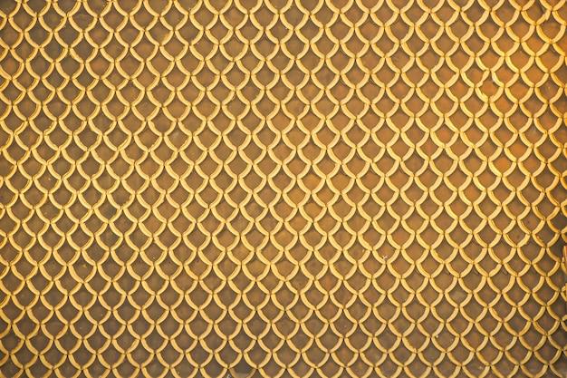 Sfondo del modello d'oro