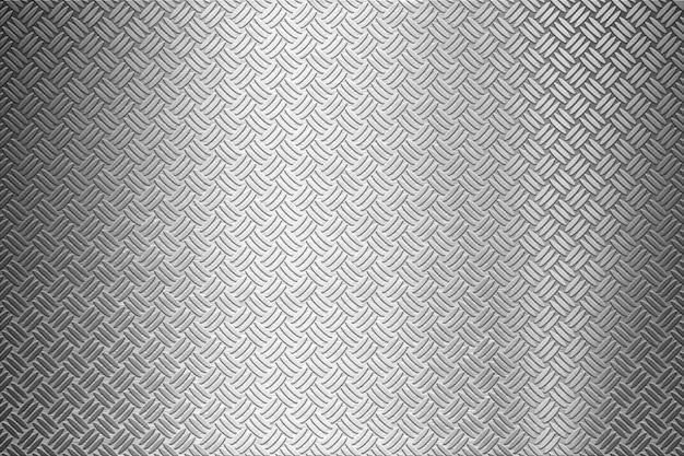 Sfondo del piatto diamantato in metallo