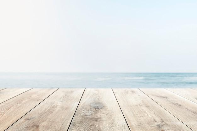Sfondo del prodotto spiaggia