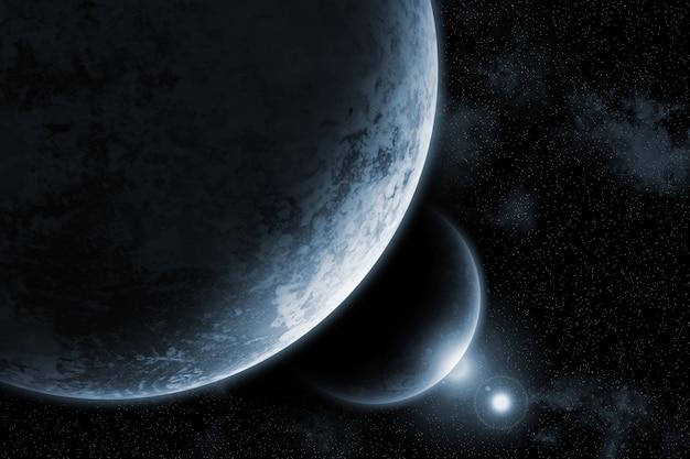 Sfondo dello spazio immaginario