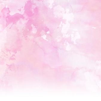 Sfondo di acquerello rosa pastello