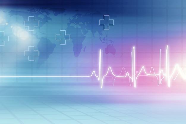 Sfondo di assistenza sanitaria medica