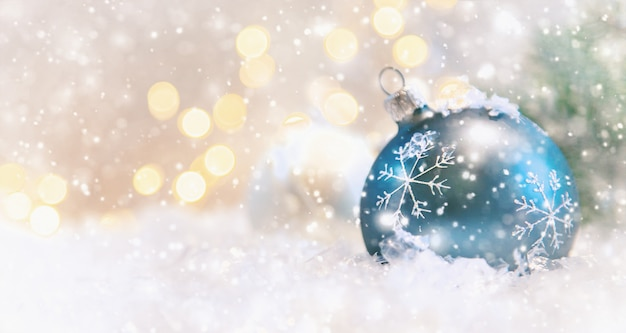Sfondo di auguri di buon natale e felice anno nuovo, vacanze.