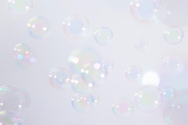 Sfondo di bolle di sapone