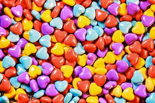 Sfondo di caramelle colorate