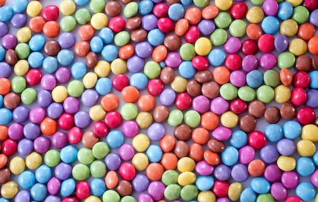 Sfondo di caramelle di cioccolato