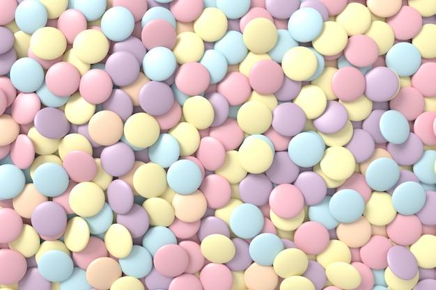 Sfondo di caramelle
