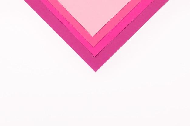 Sfondo di carta colorata rosa minimalismo trama. fogli di carta rosa.