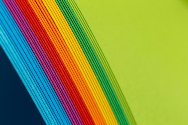 Sfondo di carte colori