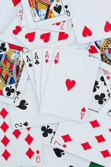 Sfondo di carte da gioco