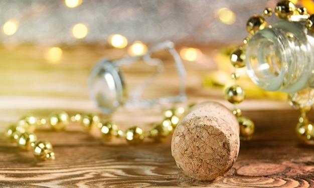 Sfondo di celebrazione di capodanno