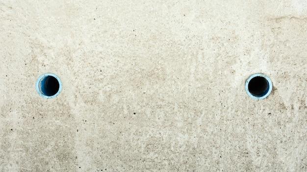 Sfondo di copertura fognaria in cemento