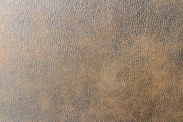 Sfondo di divano in pelle marrone