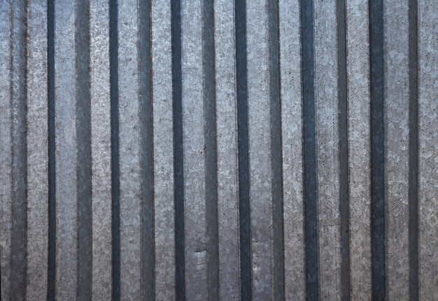 Sfondo di ferro ondulato