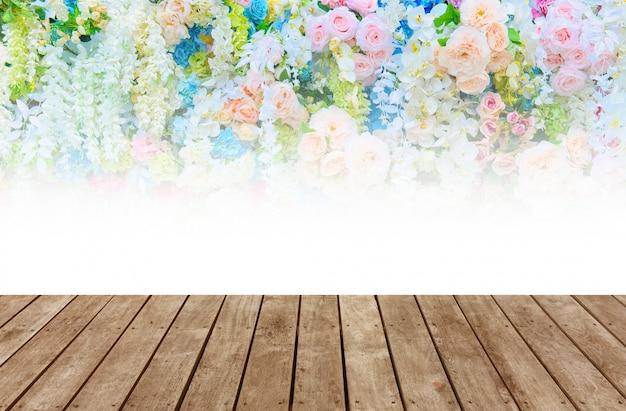 Sfondo di fiori matrimonio sfondo, sfondo colorato, rosa fresca, mazzo di fiori