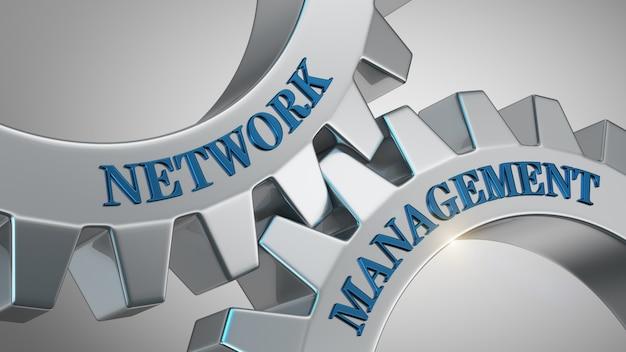Sfondo di gestione della rete