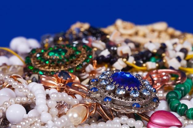 Sfondo di gioielli