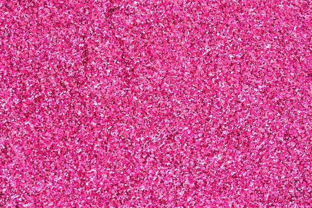 Sfondo di glitter rosa