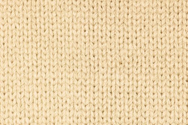 Sfondo di lana a maglia.