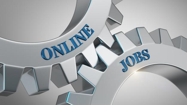 Sfondo di lavori online