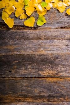 Sfondo di legno di caduta