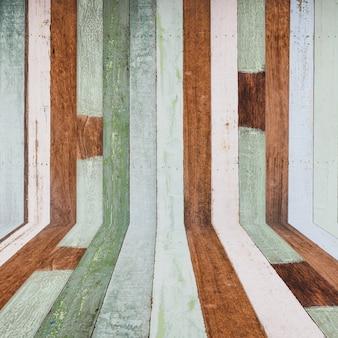Sfondo di legno e bei colori.