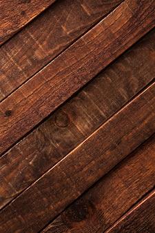 Sfondo di legno marrone