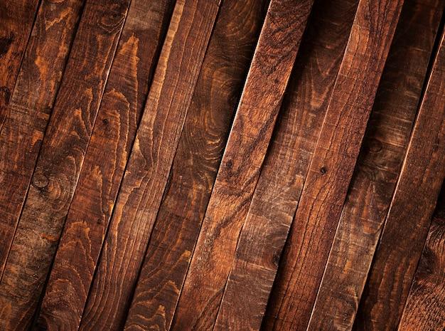 Sfondo di legno scuro