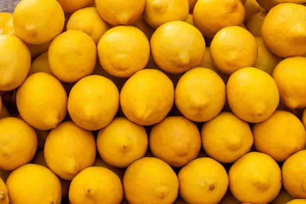 Sfondo di limoni