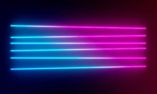 Sfondo di luci al neon.