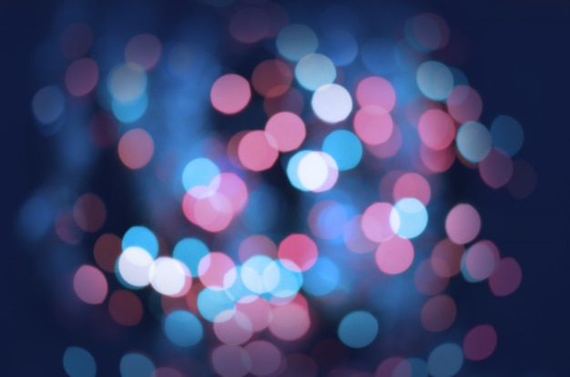 Sfondo di luci defocused vintage glitter